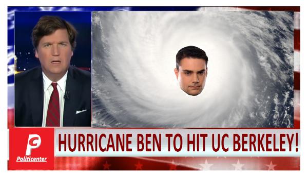 Hurricane Ben to Hit UC Berkeley! Tucker Has Details on Safe Spaces after Impact.