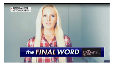 """""""Country Not Ready for an Entitled Political Princess"""" Tomi Destroys Hillary in Final Thought!"""