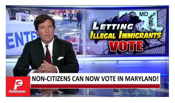 Non-Citizens Can Now Vote in Maryland! Tucker Confronts Democrat Proponent!