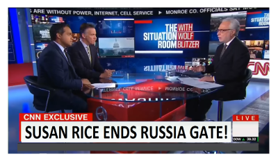 Susan Rice Ends Russia Gate! CNN Unwittingly Puts Nail in Coffin!