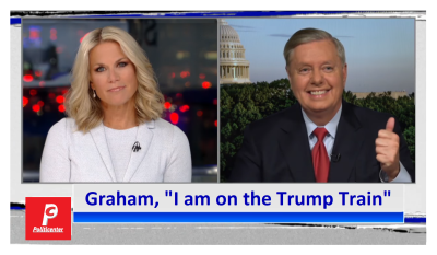 """""""I'm on the Trump Train"""" Graham Says Trump Backs Repeal and Taxes """"1000%"""""""