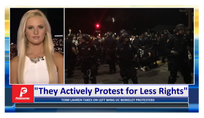 """""""They Actively Protest for Less Rights"""" Tomi Lauren Takes on Leftist Protesters"""