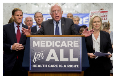"""""""Medicaid for All Would Bankrupt the Nation"""" Bernie Sanders in 1987"""