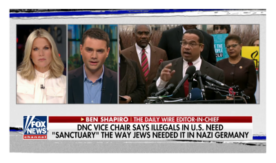 "Shapiro Blast Anti-Jewish Ellison for ""Illegals to Jews"" Comparison!"