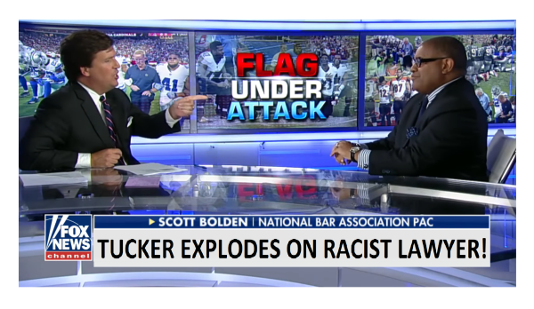 """Oppressed? Your Cuff Links Are Worth More Than My Car!""  Tucker Explodes on Racist Lawyer!"