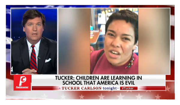 """""""You Pass for White, Need Rid of All of Yall"""" Tucker Takes on Racist Left Saying America is Evil!"""
