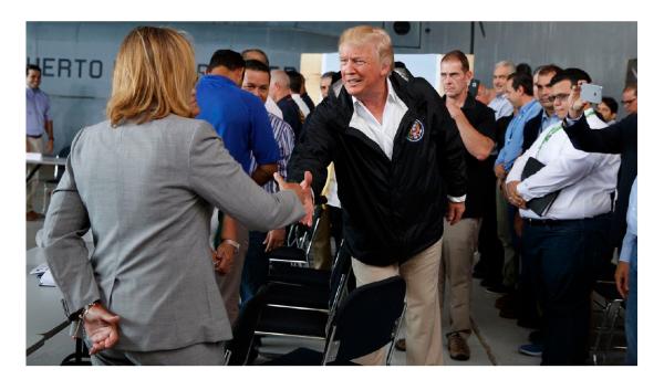 Trump Disses San Juan Mayor to Her Face!