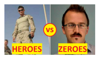 Heroes and Zeroes of the Las Vegas Shooting