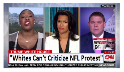"""""""White People Do Not Get to Decide What's a Protest"""" CNN Thinks Skin Tone Invalidates Opinions"""