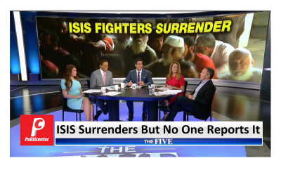 """ISIS Surrenders But No One Reported It""  The Five Discuss Silent Liberal Media"