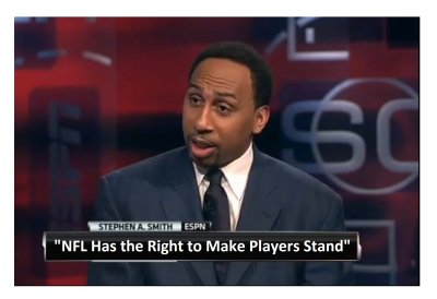 """""""It's a Fact, NFL Has Right to Make Players Stand"""" ESPN's Tone is Changing!"""