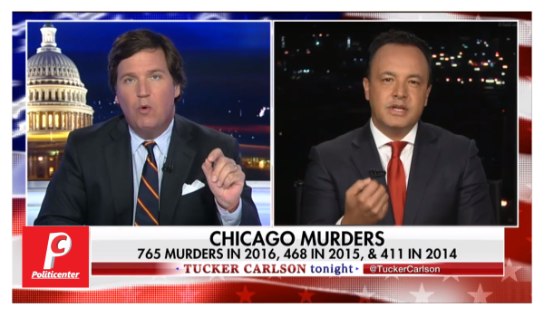 """""""Majority of Kids Do Not Have Fathers"""" Tucker Destroys Chicago Politician After Murders Hit 500!"""