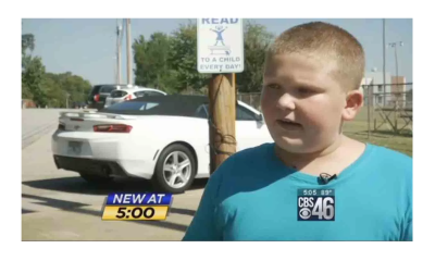 10 Y/O Called Nazi and Bullied for Pledging Allegiance to the Flag!