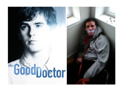 Good Doctor Imitates Real Life Recalling Images of Chicago Special Needs Torture Victim!