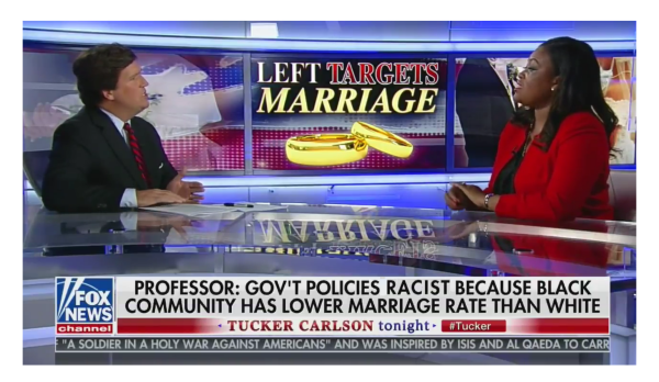 Marriage is Racist? Tucker Destroys Racecard with True Statistics on Single Parent Homes!