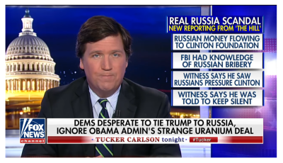 Tucker Exposes Real Russian Collusion!