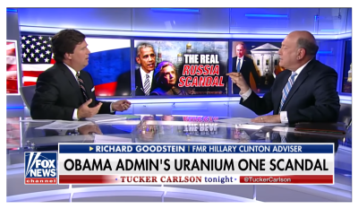 Tucker Destroys Clinton Adviser on Real Uranium One Scandal and Fake Trump Collusion Story!