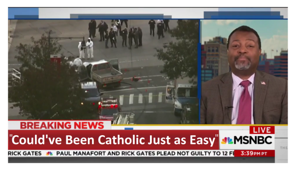 """MSNBC Says Terrorist """"Just as Easy Could Have Been an American Catholic!"""""""