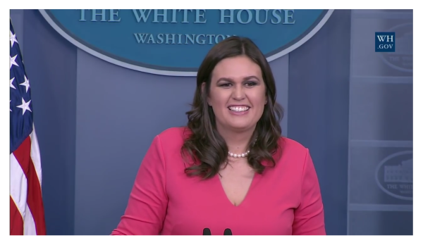 Sarah Huckabee Sanders Made the Negative Press Act Positive for a Change!