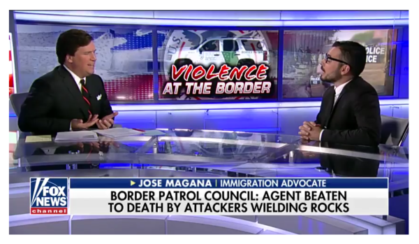 """""""That is a Lie and You know it!"""" Tucker's Patience Runs Out While Debating Open Border Advocate!"""