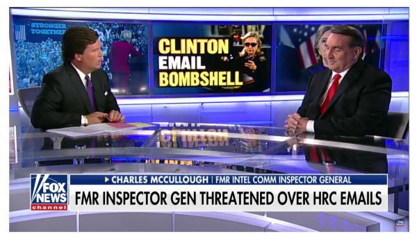 Inspector General Says Clinton Endangered National Security and Should be Prosecuted!