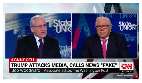Woodward and Bernstein Call Media Self-righteousness and Smug!