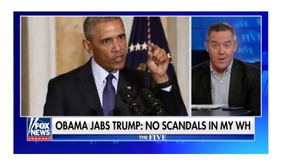 Greg Gutfeld Misses Barack Obama?