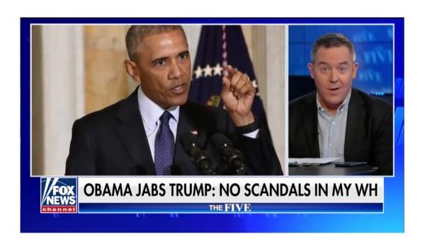 Greg Gutfeld Misses Barack Obama?
