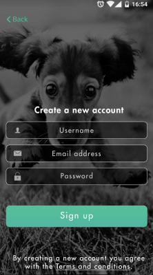 mobile app for dog lovers