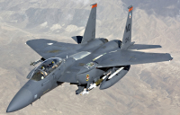 U.S. F-15E Downs Iranian-Built Syrian Drone After Airstrike on U.S. Led Forces