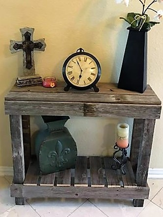 Entrance Reclaimed Wood Table