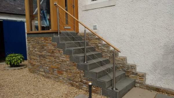 Rear Access Stair