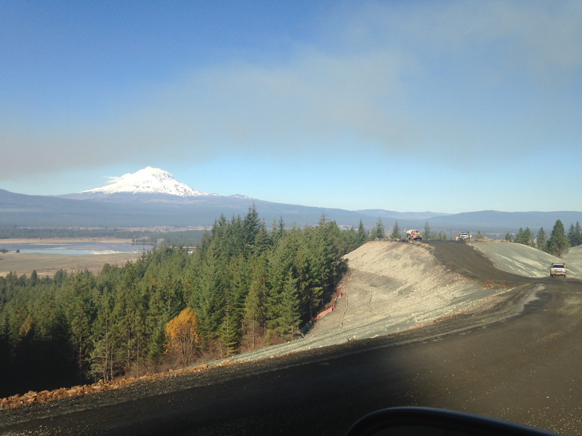 KLICKITAT COUNTY - LAKESIDE RD & FISHER HILL RD