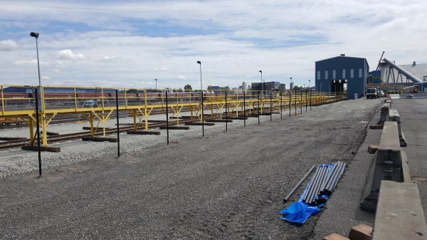 RAIL DRY BULK TRACK IMPROVEMENTS & FACILITY RELOCATION-PROJECT 7
