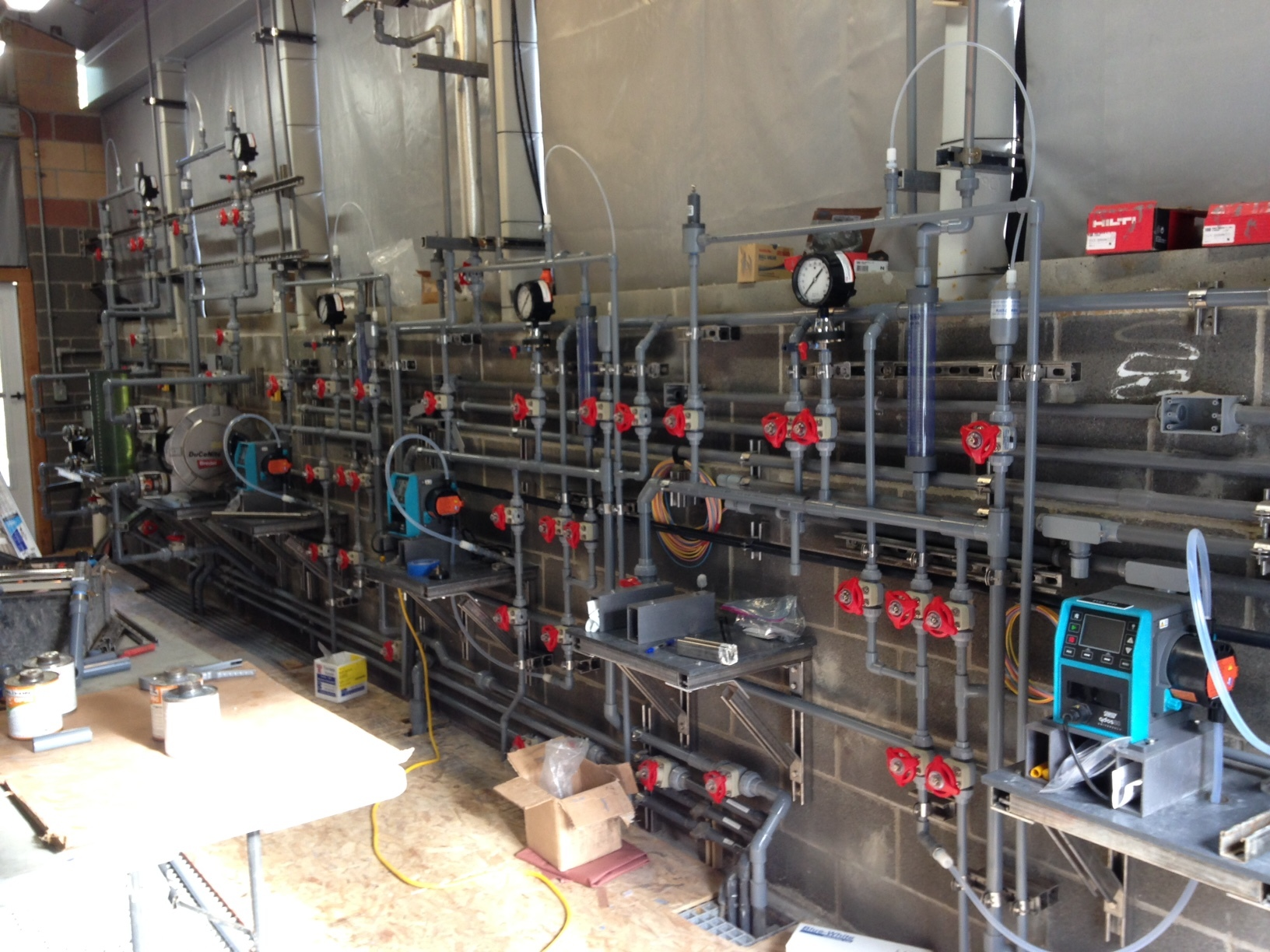MARTIN WAY RECLAIMED WATER PLANT SODIUM HYPOCHLORITE SYSTEM IMPROVEMENTS