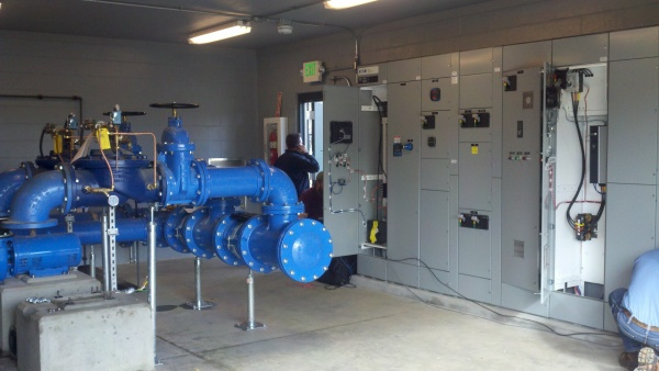 219TH STREET CPU INTERTIE & BOOSTER PUMP FACILITY