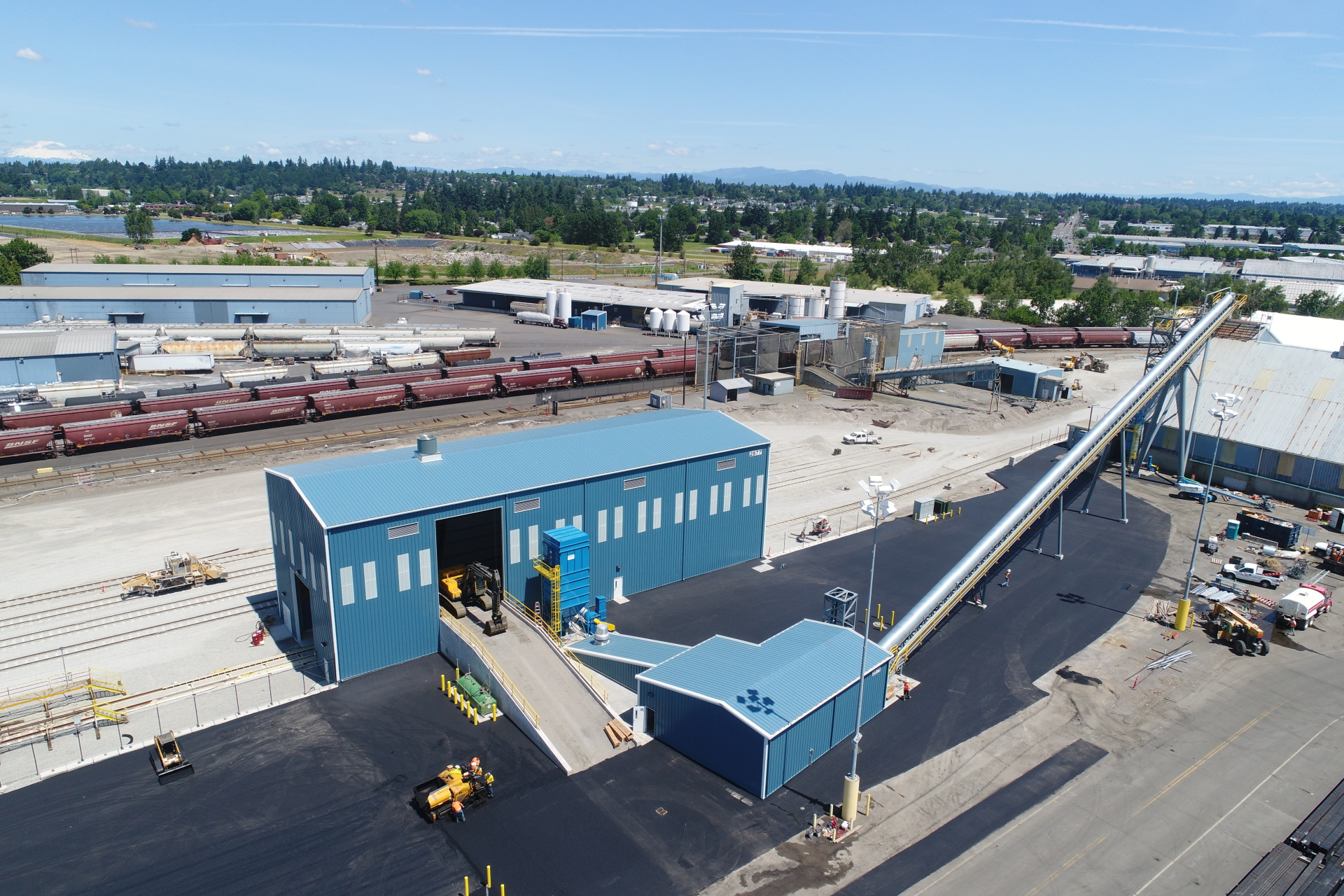 PORT OF VANCOUVER - PROJECT 7 DRY BULK FACILITY