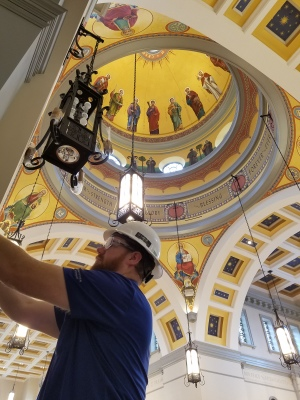 Gallaher installed integrated security solutions for The Cathedral of the Most Sacred Heart
