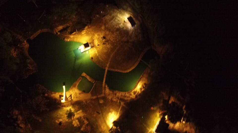 Night view from 400 feet