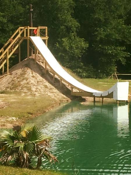 50 foot slide!!