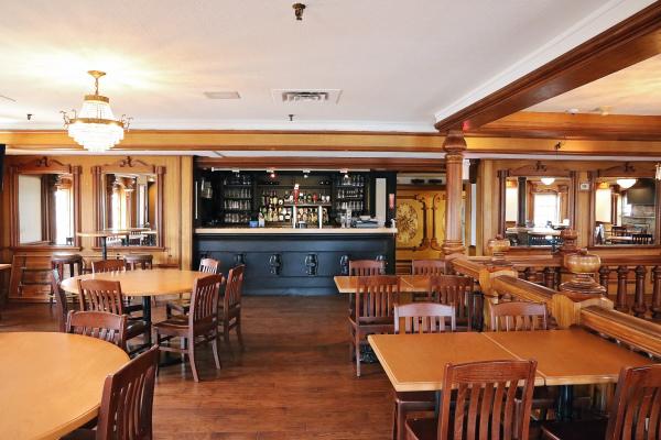 Upstairs - Bar view