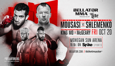 Bellator 185 Mousasi Debut V Shlemenko