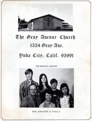 "1973 - ""The Gray Avenue Church"""