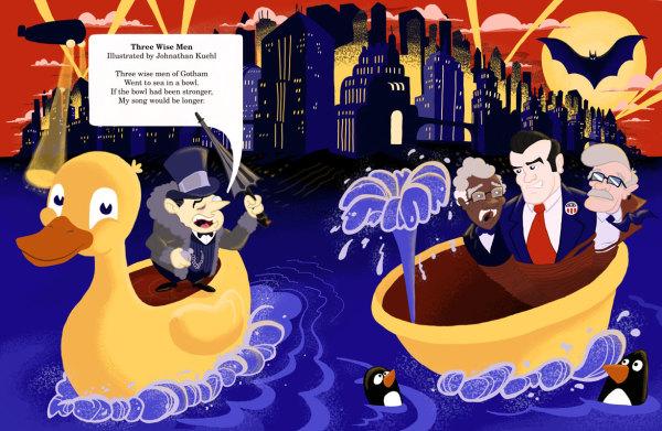 """3 Wise Men of Gotham"""