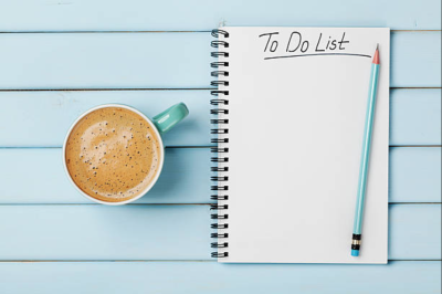 "The power of a ""To do"" List"