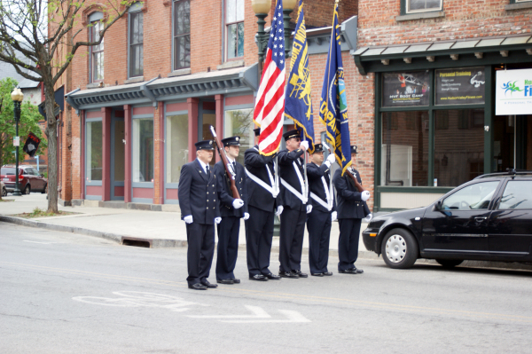 Beacon/Fishkill Fire Departments Color Guard