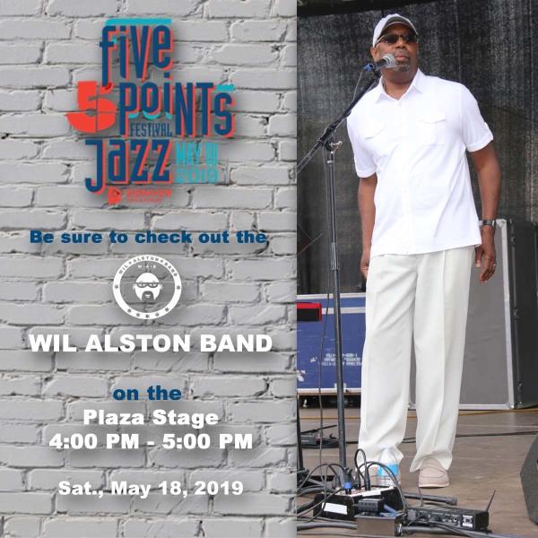 Five Points Jazz Fest promo postcard