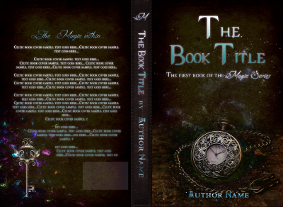 clock time steampunk book cover