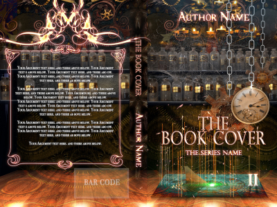 steampunk book cover novel story