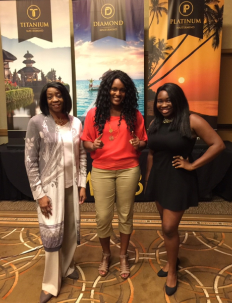 Home Business Summit- Houston, TX (With Sharika, who popped in and surprised everyone!  She was such a pleasure to meet and we look forward to seeing her at future events and workshops!)